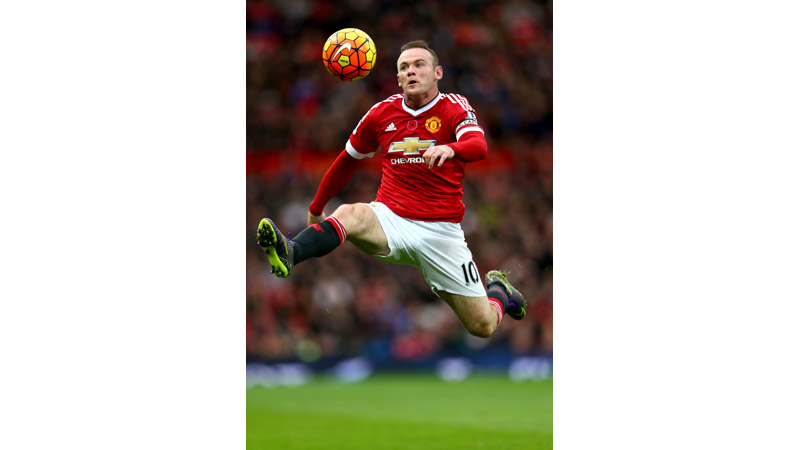 59/161 Wayne Rooney, Old Trafford Manchester 2015
