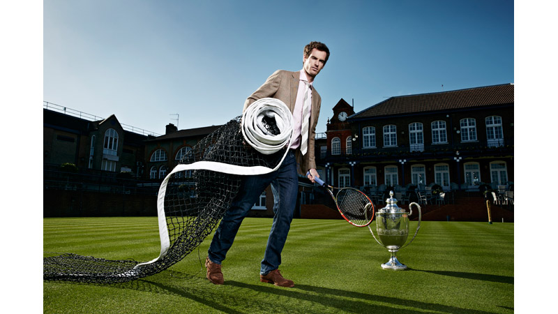 26/151 Andy Murray, Queens Club London 2015