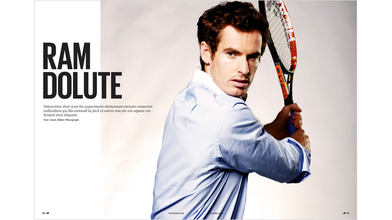 10/69 Andy Murray Red Bull Mag