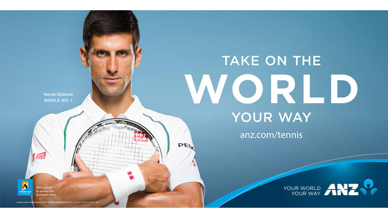 17/132 Novak Djokovic for ANZ Australia, 2015