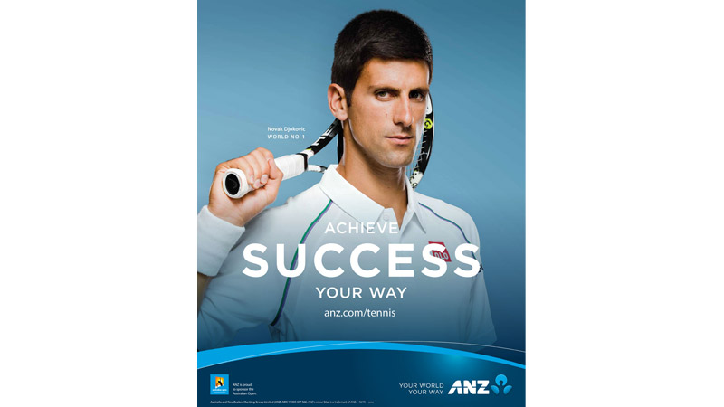 18/132 Novak Djokovic for ANZ Australia, 2015
