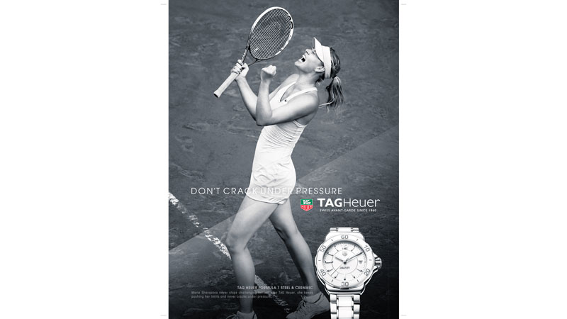 33/132 Maria Sharapova for TAG Heuer