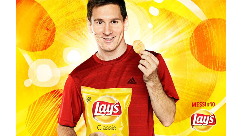 36/131 Lionel Messi for Lays