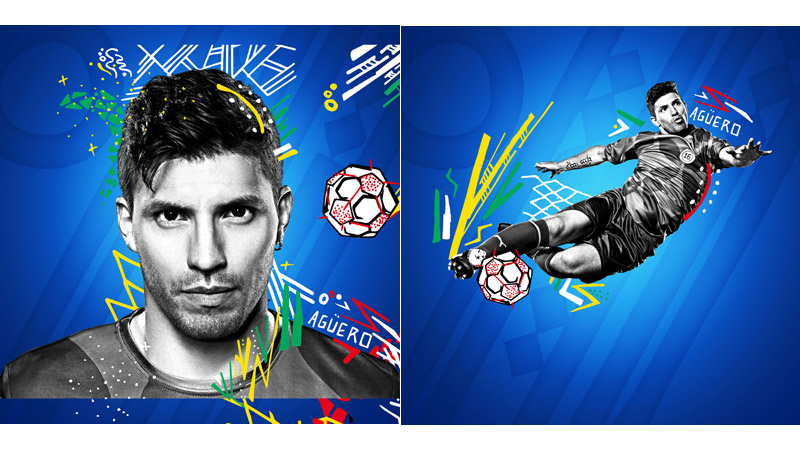 26/132 Sergio Aguero for Pepsi 2014