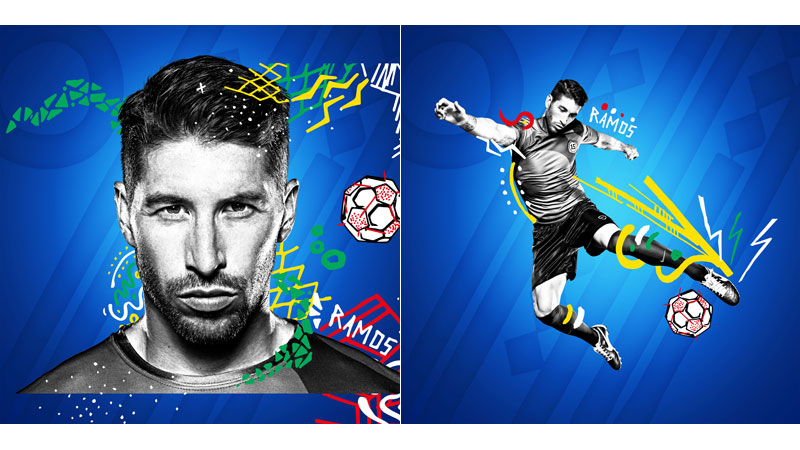 27/132 Sergio Ramos for Pepsi 2014