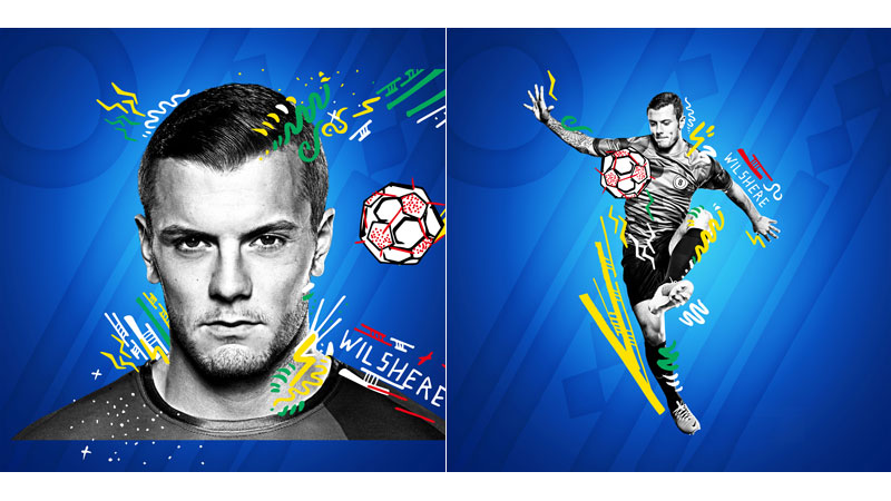 29/132 Jack Wilshere for Pepsi 2014