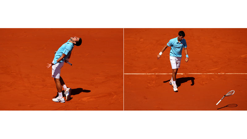 36/136 Novak Djokovic, Paris 2014