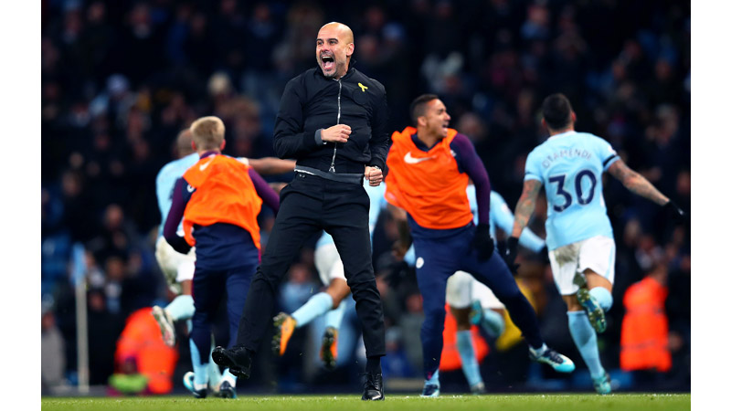 20/161 Pep Guardiola, Manchester, 2017