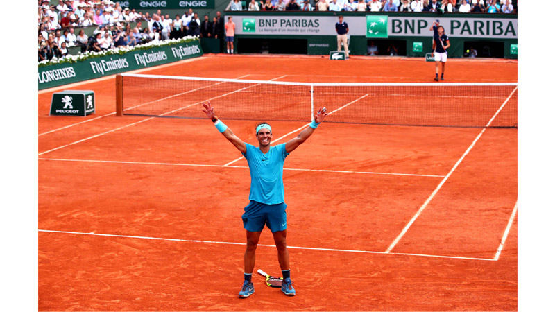 7/170 Rafa's 11th French Open Paris, June 2018