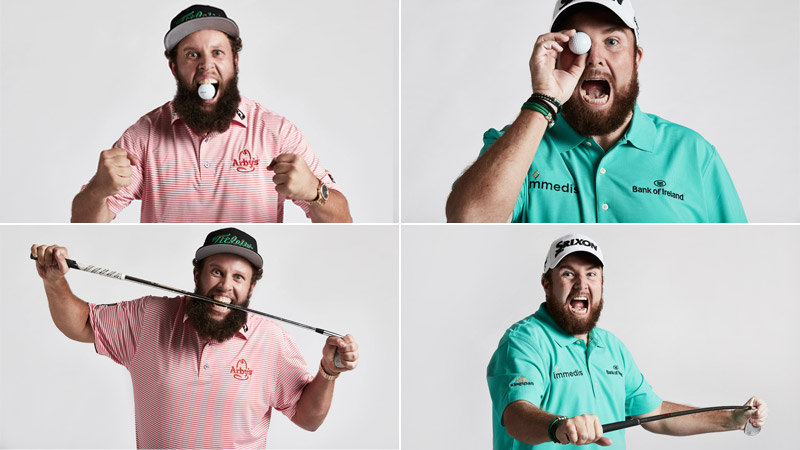 19/21 Andrew Johnston and Shane Lowry