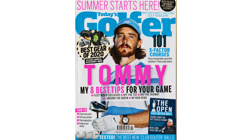 14/21 Tommy Fleetwood for Today's Golfer May 2020