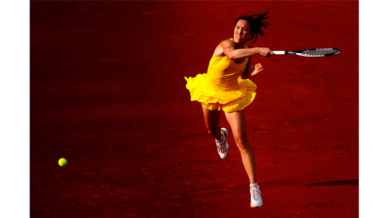 108/161 - Jelena Jankovic of Serbia, 2010. © Getty Images
