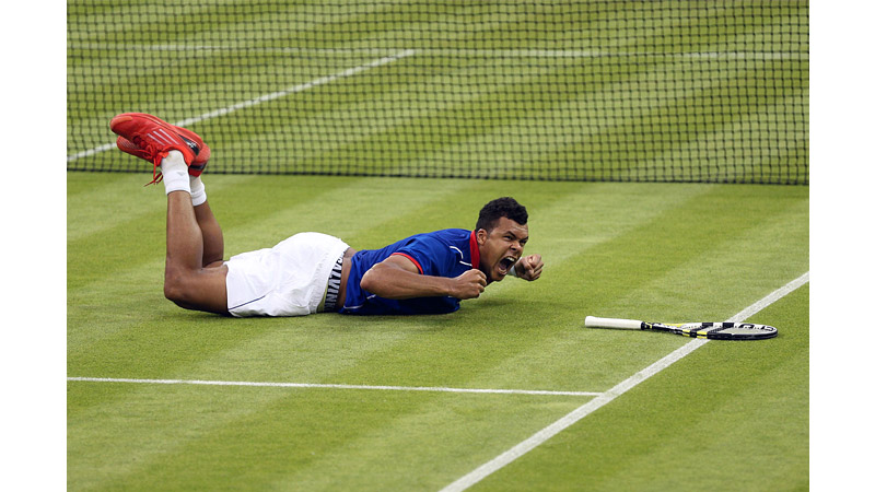 63/136 - Jo-Wilfried Tsonga, London July 2012