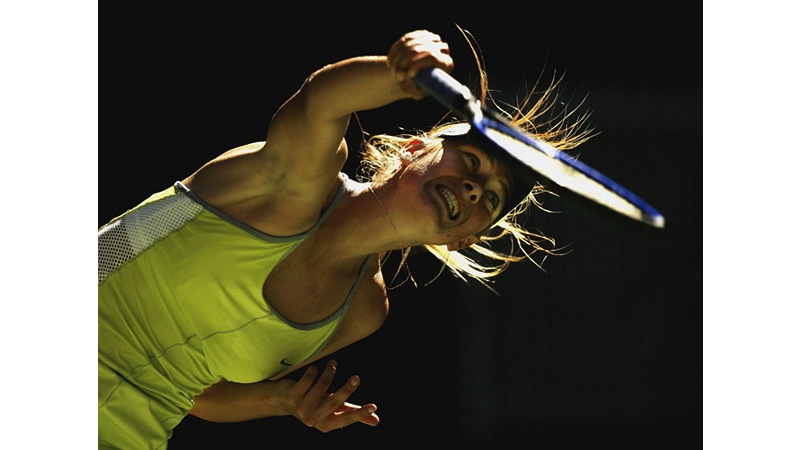 87/136 - Maria Sharapova of Russia, 2005. © Getty Images