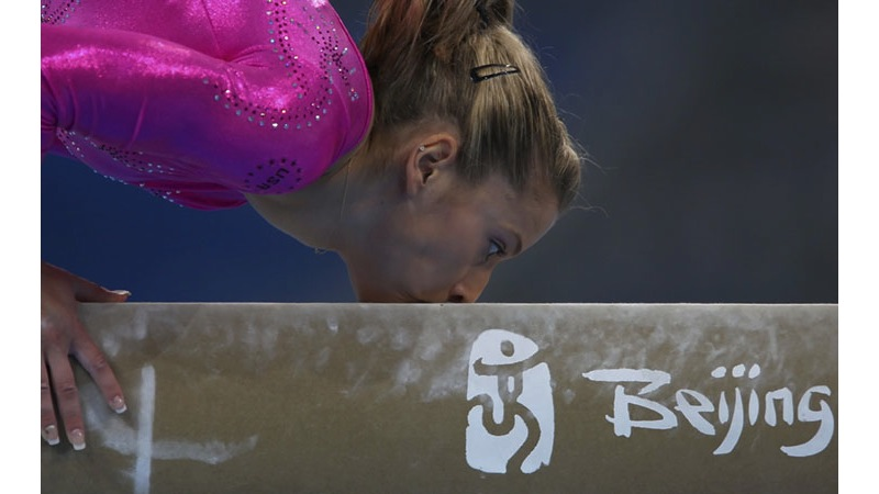 93/136 - Alicia Sacramone of the USA, 2008. © Getty Images