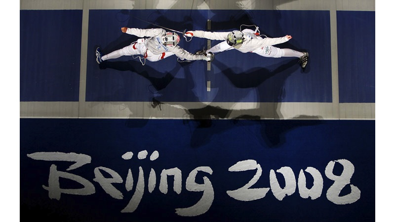 119/161 - Fencing - Beijing, 2008. © Getty Images