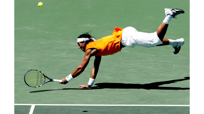 115/136 - Rafael Nadal of Spain, 2005. © Getty Images