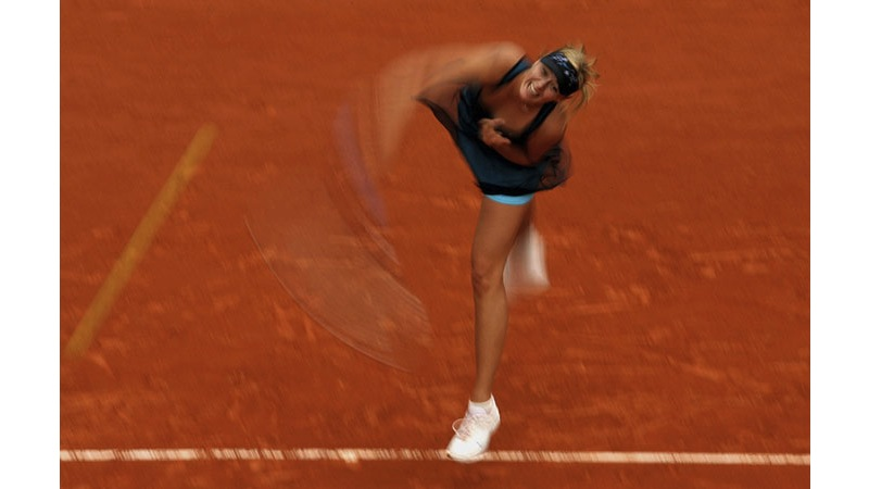120/136 - Maria Sharapova of Russia, 2007. © Getty Images