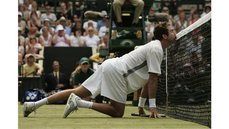 124/136 - Justin Gimelstob of the USA, 2005. © Getty Images