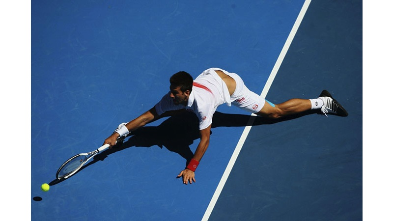 136/136 - Novak Djokovic of Serbia - 2010. © Getty Images