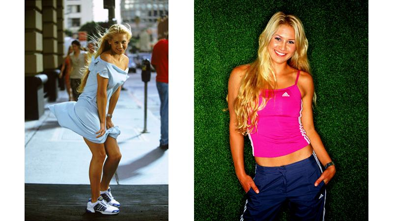 34/41 - Anna Kournikova - Los Angeles/Miami, 2001/2003.