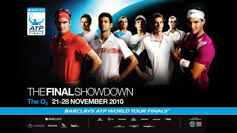 71/132 - ATP World Tour Finals, 2010.