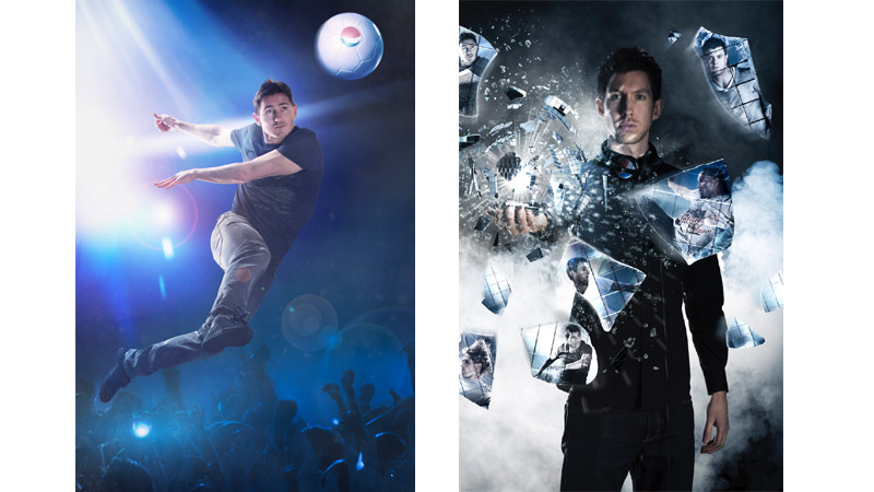 52/132 Frank Lampard and Calvin Harris for Pepsi Football, 2012