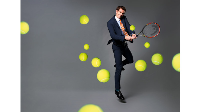 19/132 Andy Murray, Queens Club London 2015 for BA Business Life Mag