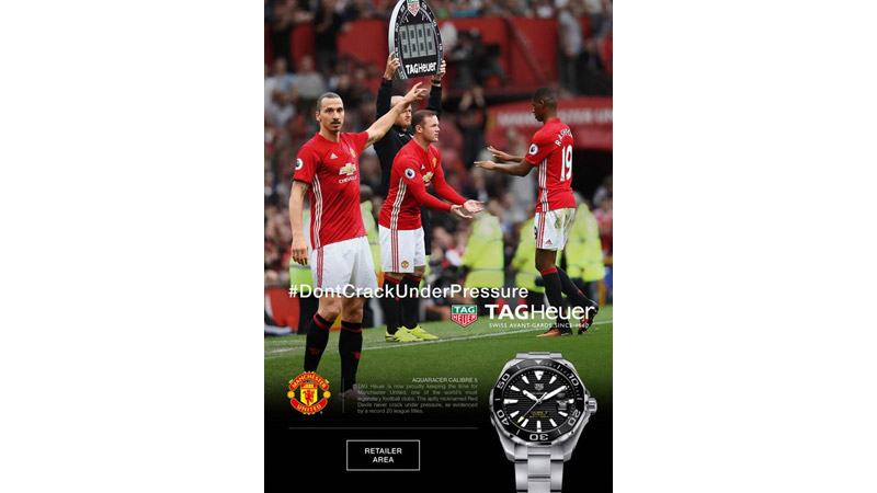 10/10  Manchester United for Tag Heuer