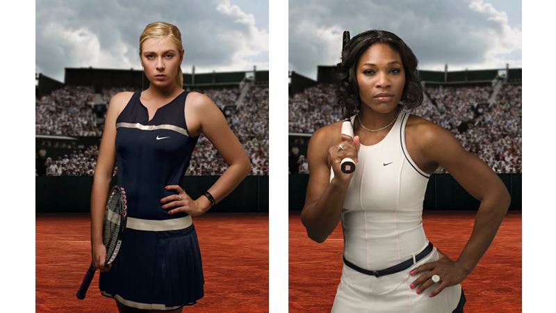 138/151 - Maria Sharapova / Serena Williams, 2007.