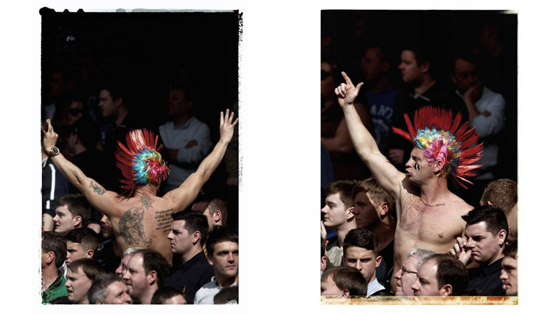 16/38 A Newcastle Fan, Liverpool, England 2012