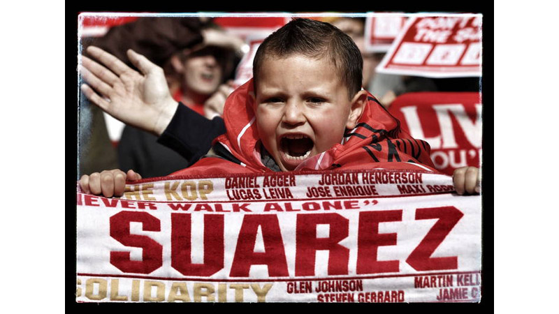 7/38 A young Liverpool Fan, Wembley, London 2012
