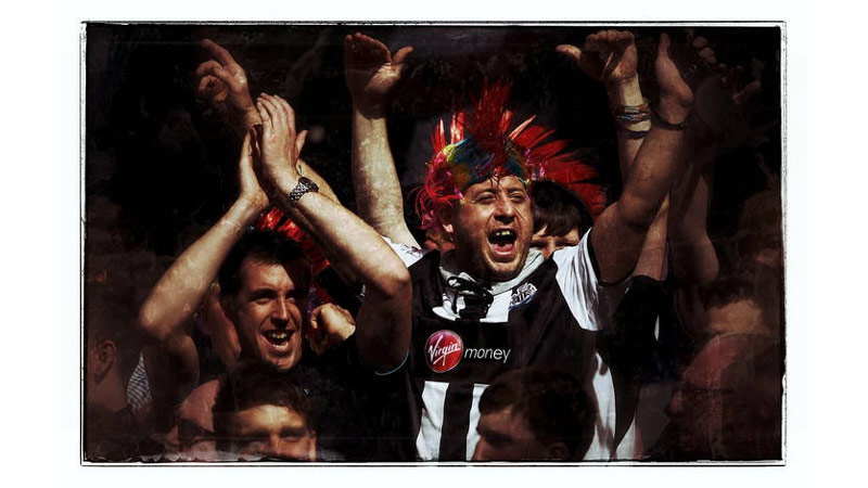 27/38 Newcastle Fans, Liverpool, England 2012