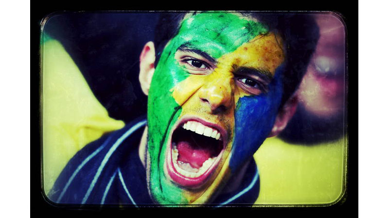 29/38 A Brazil Fan, London, England 2013