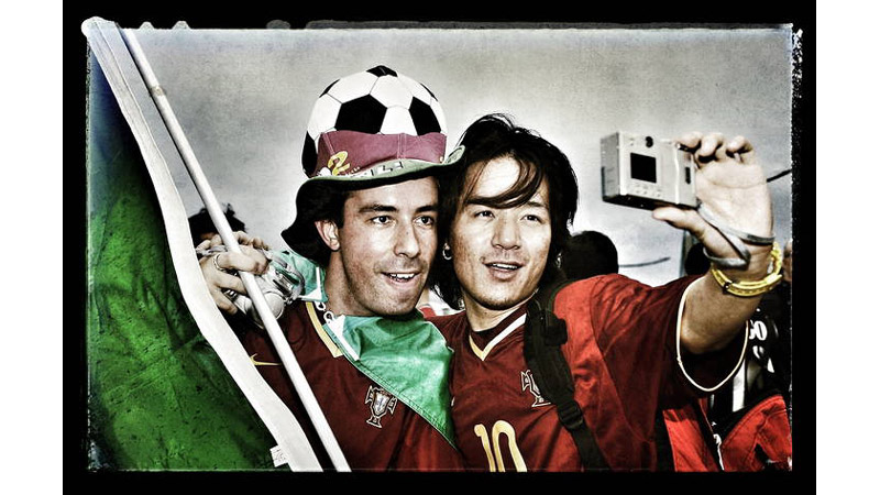 38/38 Portugal fans World Cup Korea and Japan 2002
