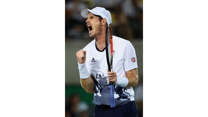 30/161 Andy Murray, Rio 2016