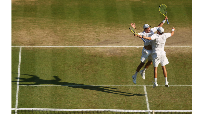 50/136 The Bryan Brothers, Wimbledon 2013