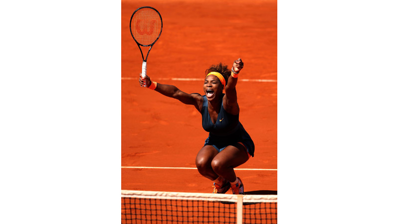 93/170 Serena Williams French Open Paris 2013