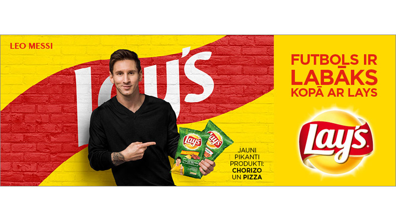 7/69 Leo Messi for Lays